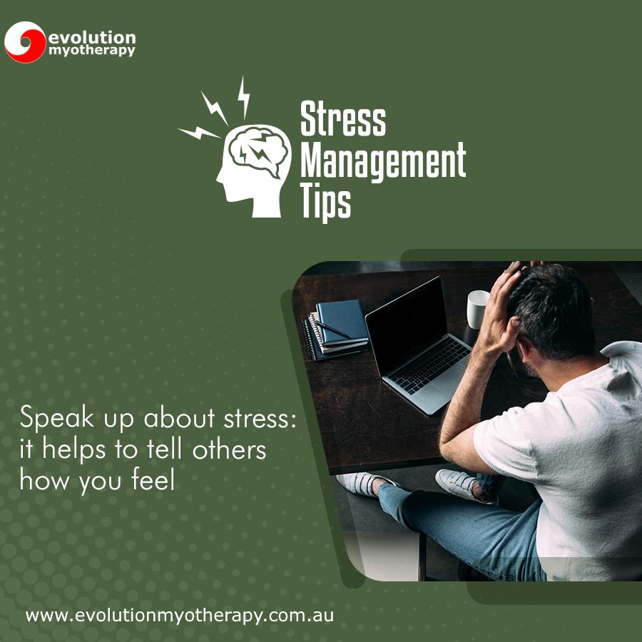 Stress Management Tips #19