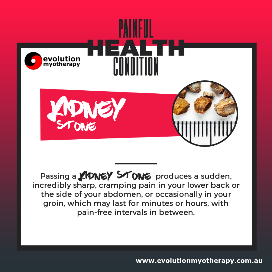 Painful Health Conditions: Kidney Stone
