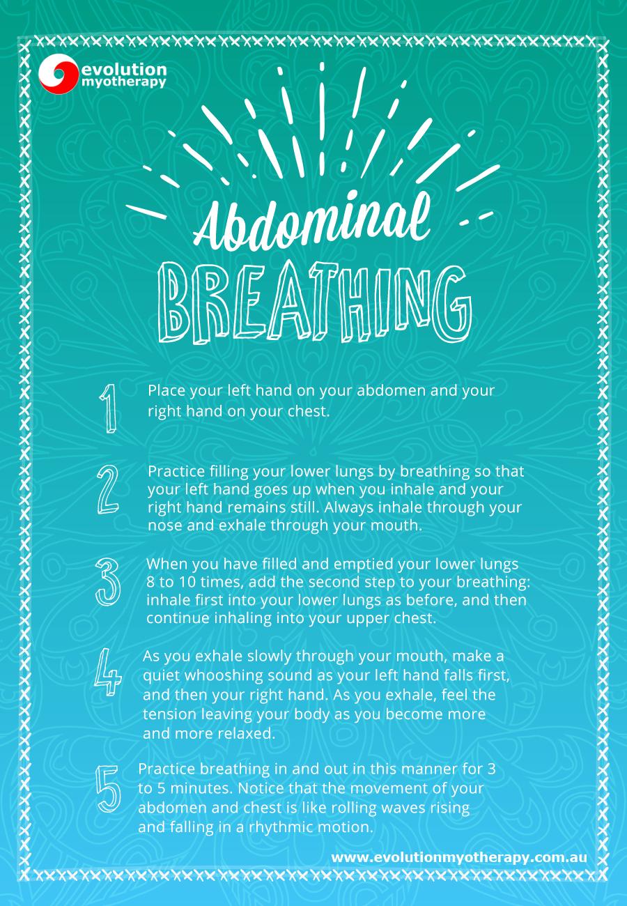 Breathing Exercises: Abdominal Breathing
