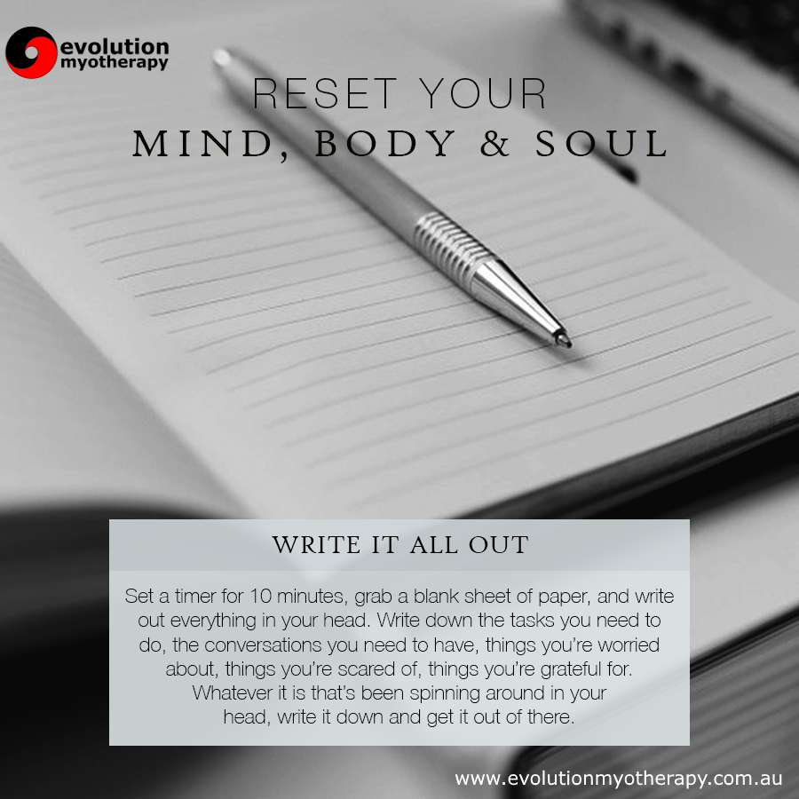 Reset Your Mind, Body & Soul #19