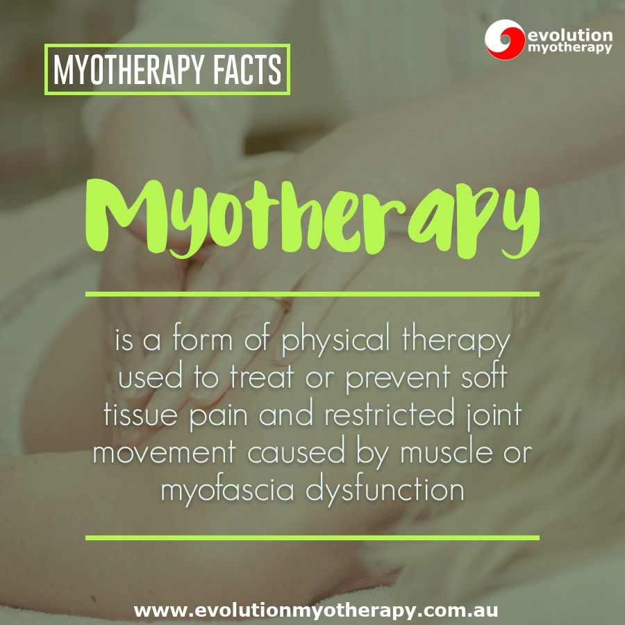 Myotherapy Facts #18