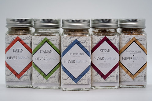 Set of Six - Seasoning