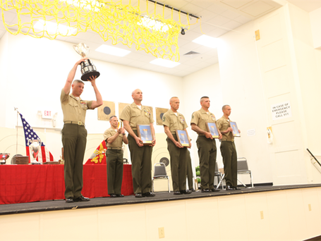 Marines honored at East Division Shooting Matches