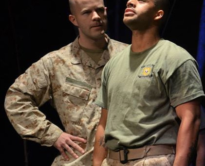 Caleb played in Bedlam, by Neath Williams, a Veteran's Day production by the Society of Artistic Vet