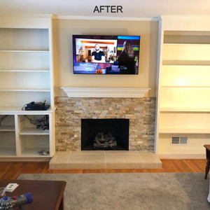 Family Room Transformation - AFTER
