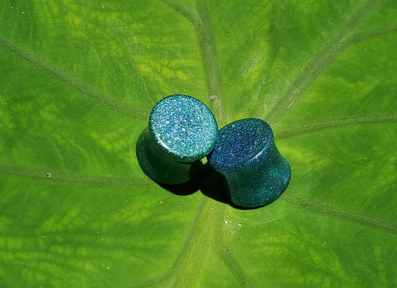 10mm Resin Double Fluted Plugs