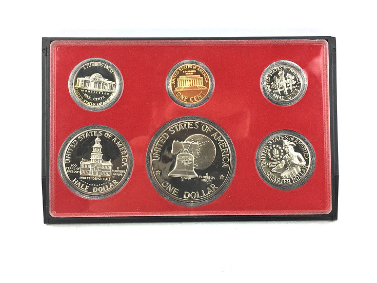 Bicentennial U.S Proof Set with Case