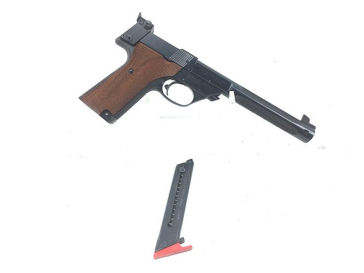 High Standard Model 107 Supermatic  Citation .22 LR Target Pistol