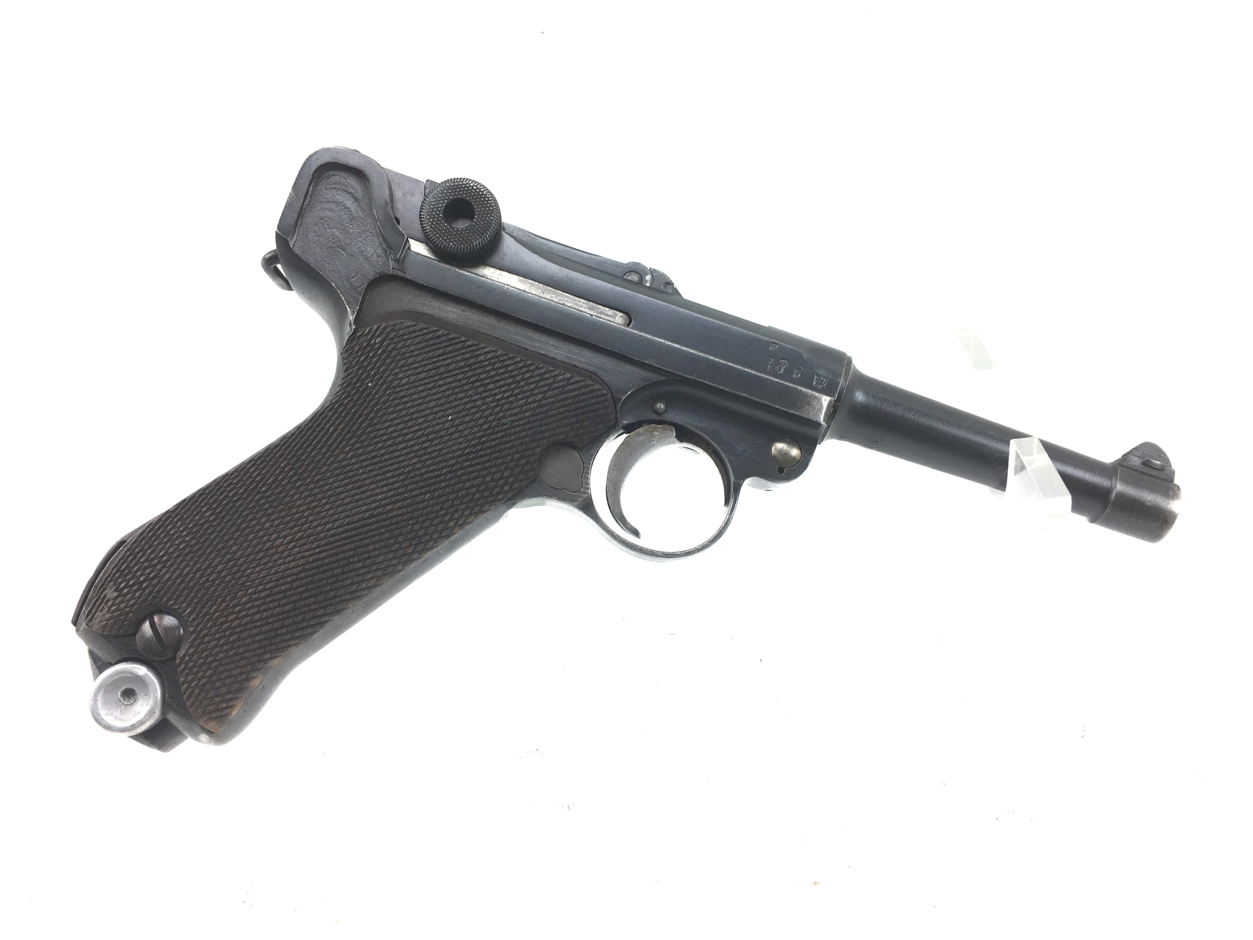 1917 Dated Erfurt P08 Luger