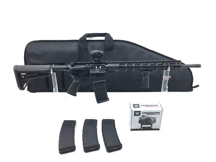 Ruger AR556 with Vortex Red Dot Optic and Extra Pmags