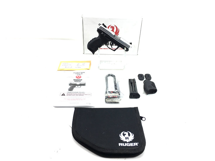 Ruger SR22 Pistol with Accessories