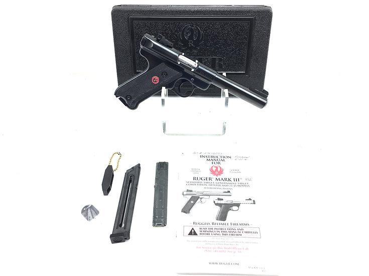 Ruger MK3 .22 LR Pistol with Case