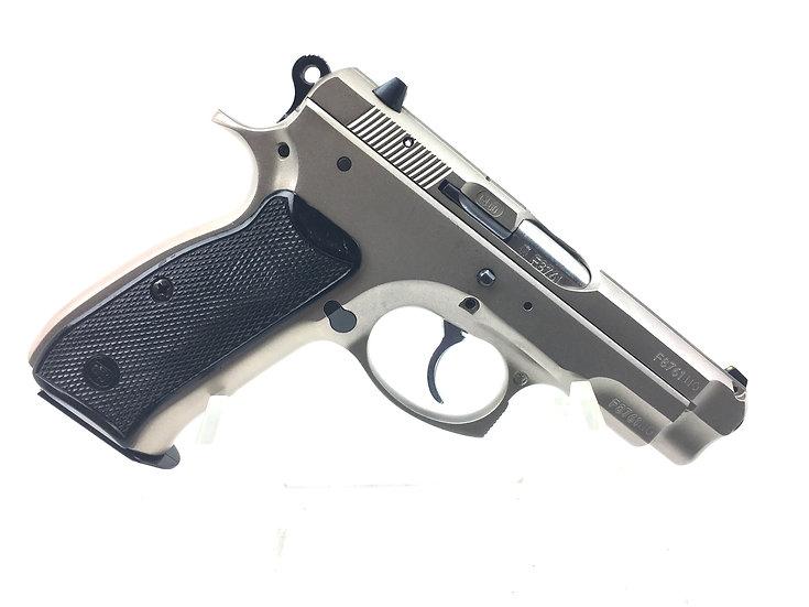 CZ 75 Semi Compact Matte Stainless steel 9mm Pistol