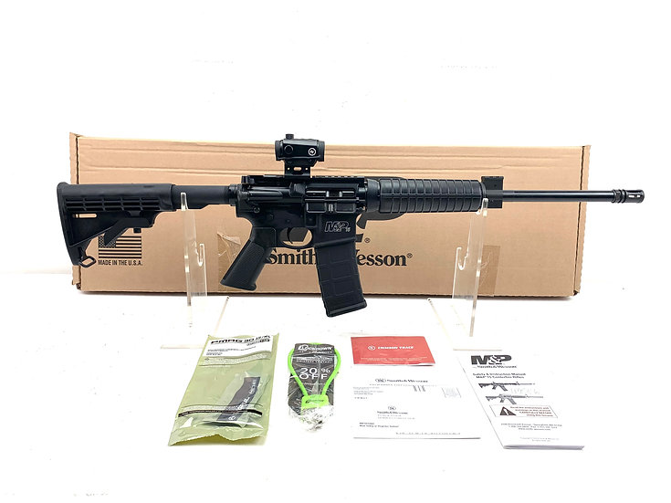 Smith & Wesson M&P-15 Rifle with Crimson Trace Optic