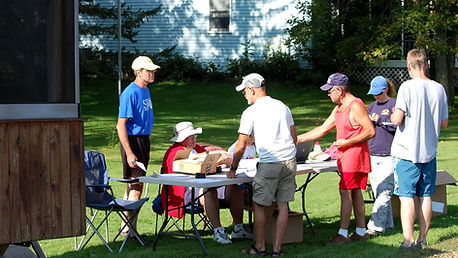 Registration for the 2015 Remington II race, Rensselaer Falls, NY