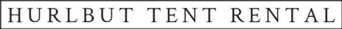 Hurlbut Tent Rental Logo