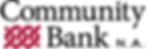 Community Bank NA Logo