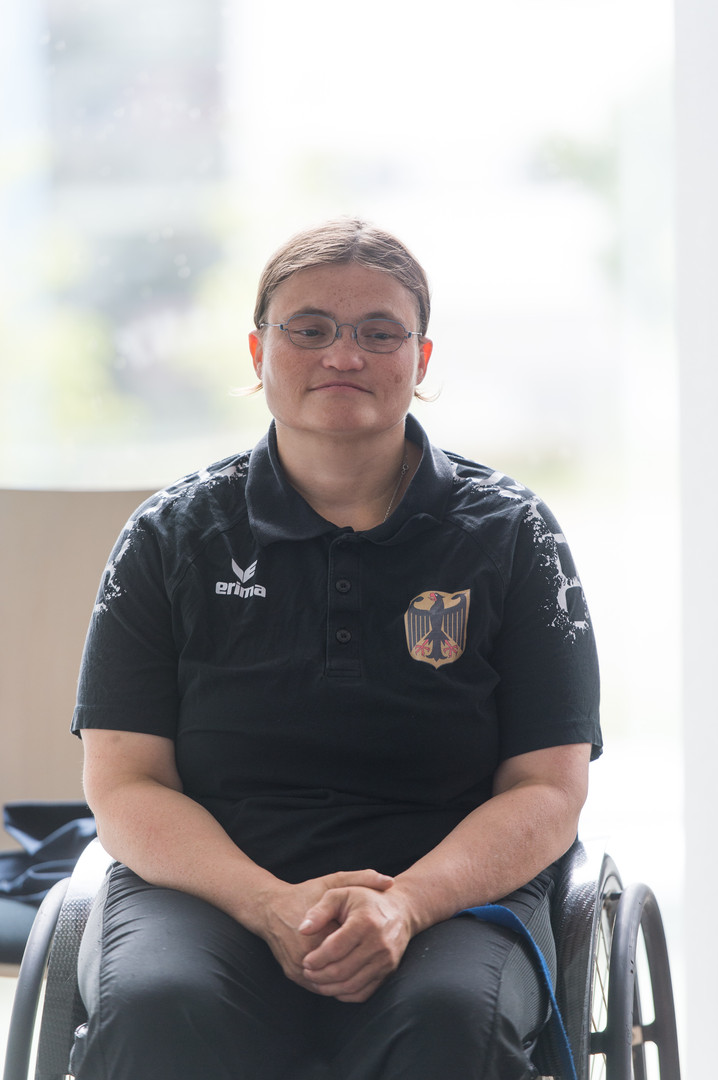 Sylvi Tauber - Rollstuhlfechterin