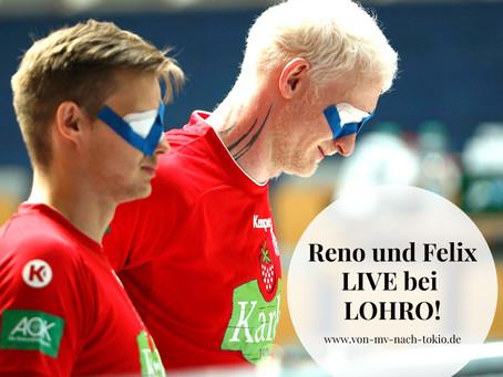 Reno und Felix zu hören bei LOHRO
