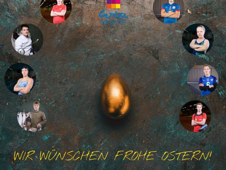 """""""Ostern: Friede, Freude, Eiersuchen."""" (Karl Heinz Karius)"""