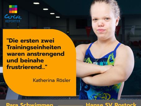 Katherina Rösler schwimmt wieder...