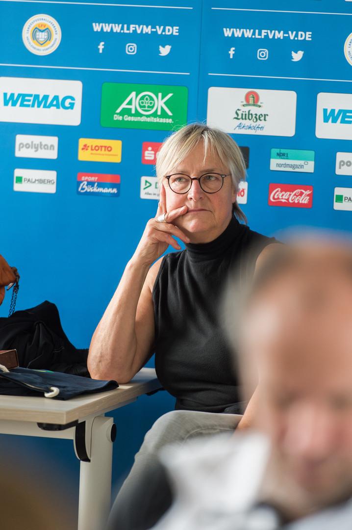 Monika Knauer - Geschäftsführerin VBRS M-V e.V.