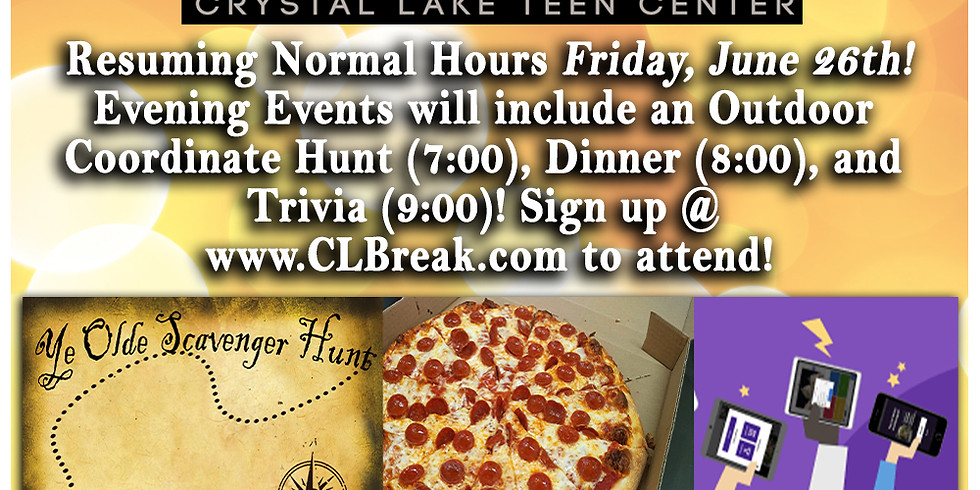 Friday Reopening Event