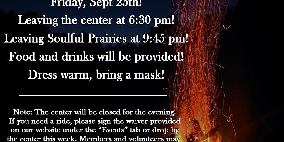 Bonfire at Soulful Prairies!