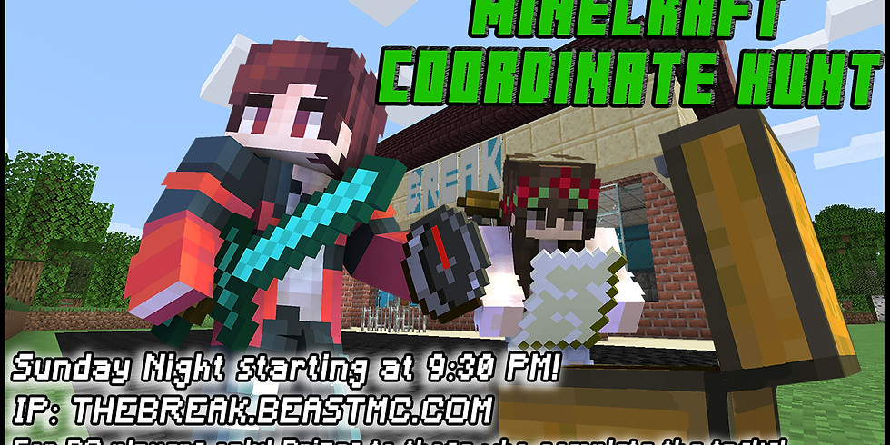 Minecraft Coordinate Hunt