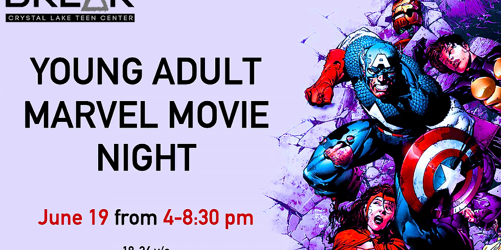 Young Adult Meet Up: Marvel Movie Night