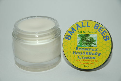 Hand and Body Cream- Rosewood