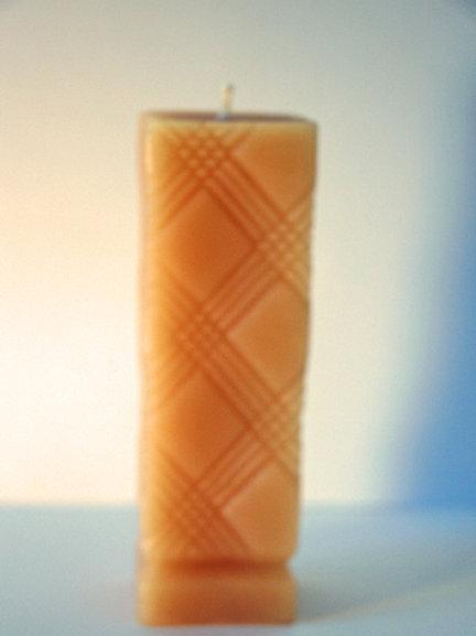 Plaid Pillar