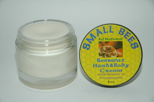 Hand and Body Cream- Pomegranate