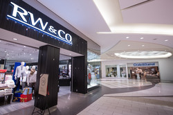 Storefront of RW & Co. Clothing store at Southgate Centre mall