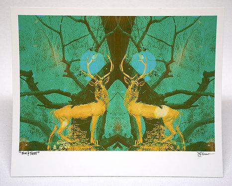 Elk & Tree