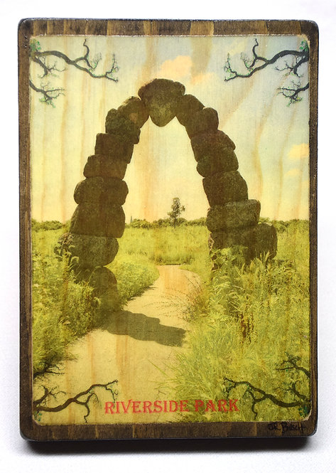 Riverside Park (Vintage Postcard Series)