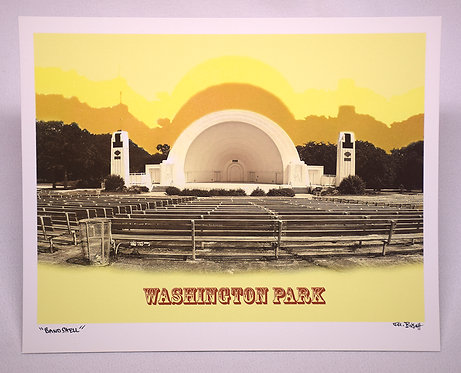 Band Shell - Washington Park