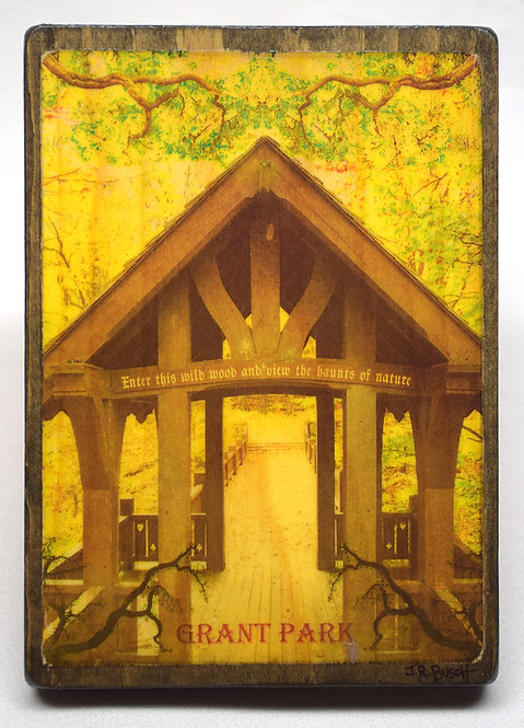 Grant Park (Vintage Postcard Series)