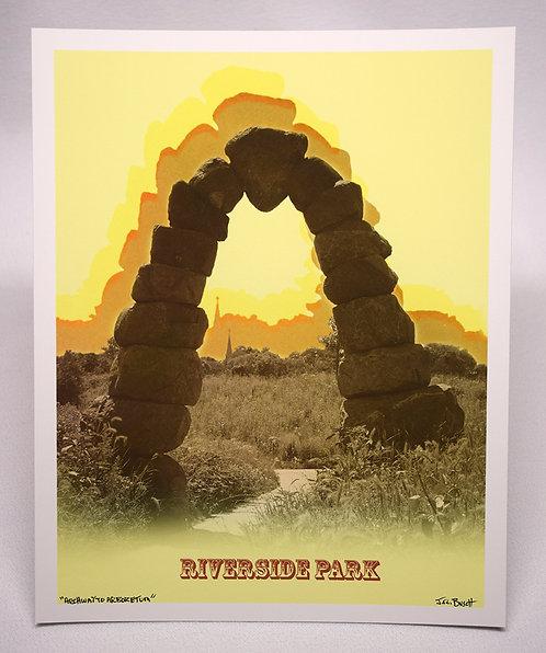 Archway To Arboretum - Riverside Park