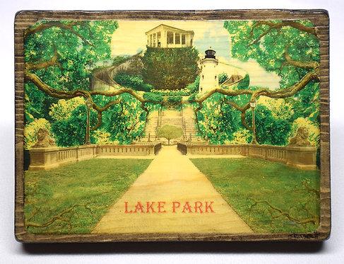 Lake Park II (Vintage Postcard Series)