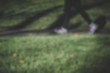 Joggen in Park
