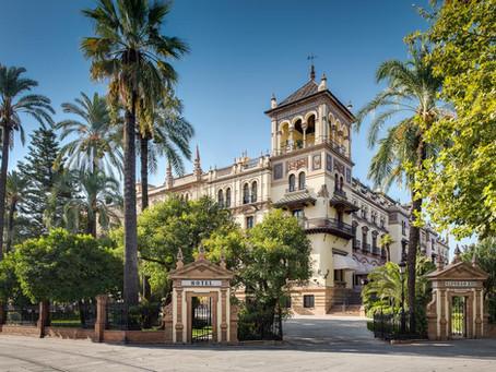 Obras de reforma en el hotel Alfonso XIII de Sevilla