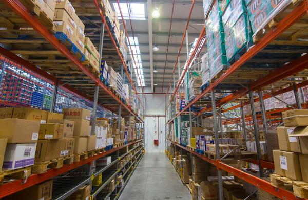 Nave industrial para logistica de alimen