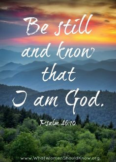 Learning to Be Still - Pastor Caitlyn