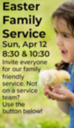 Easter Family Service Website & Email Gr