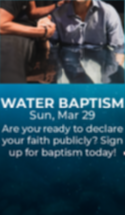 Water Baptism 3.29 Website & Email Graph
