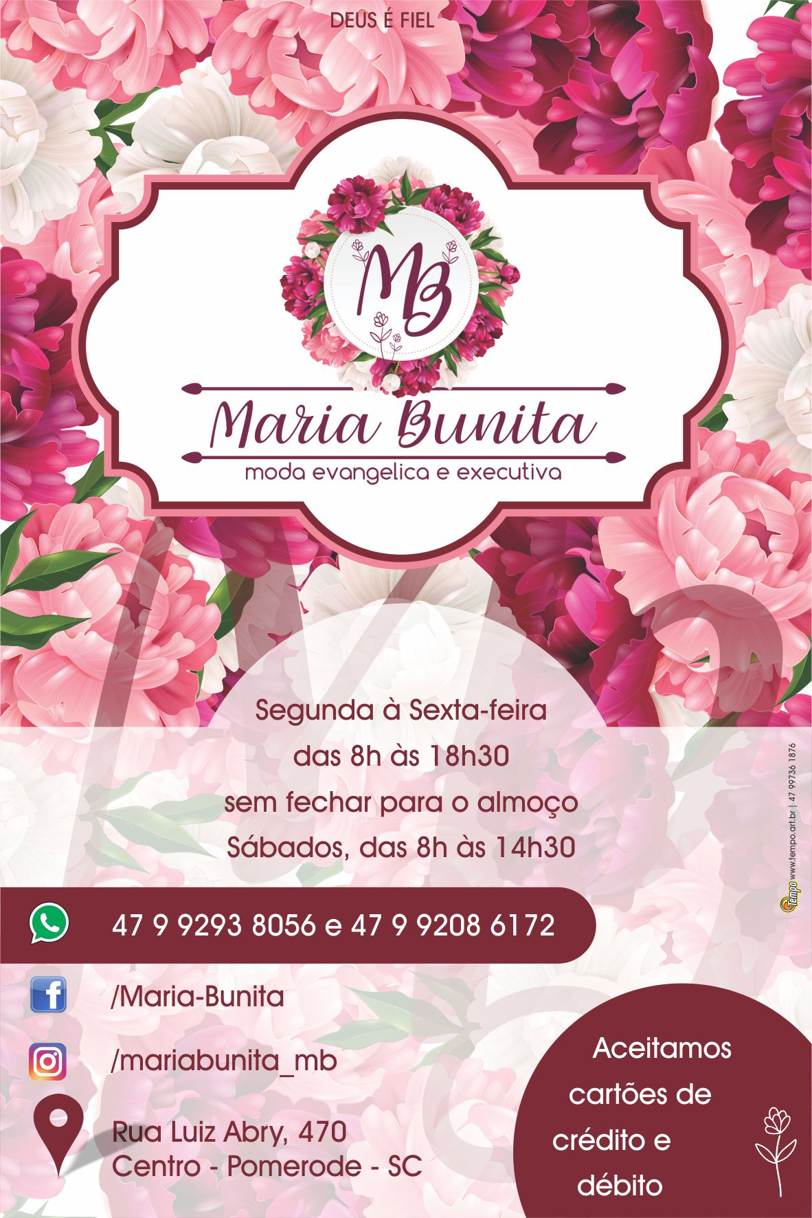 Maria Bunita Flyer 1