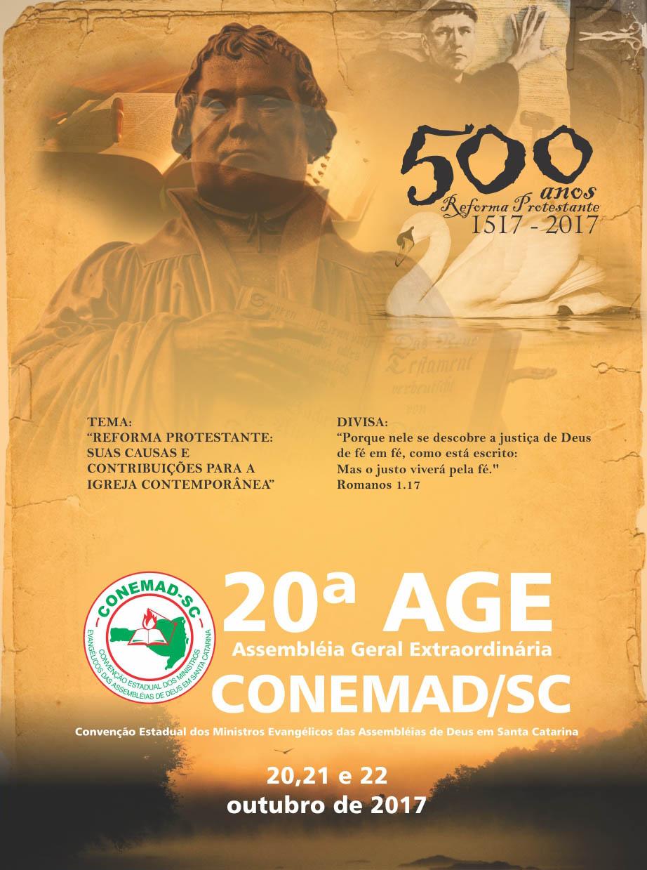 20ª AGE CONEMAD-SC