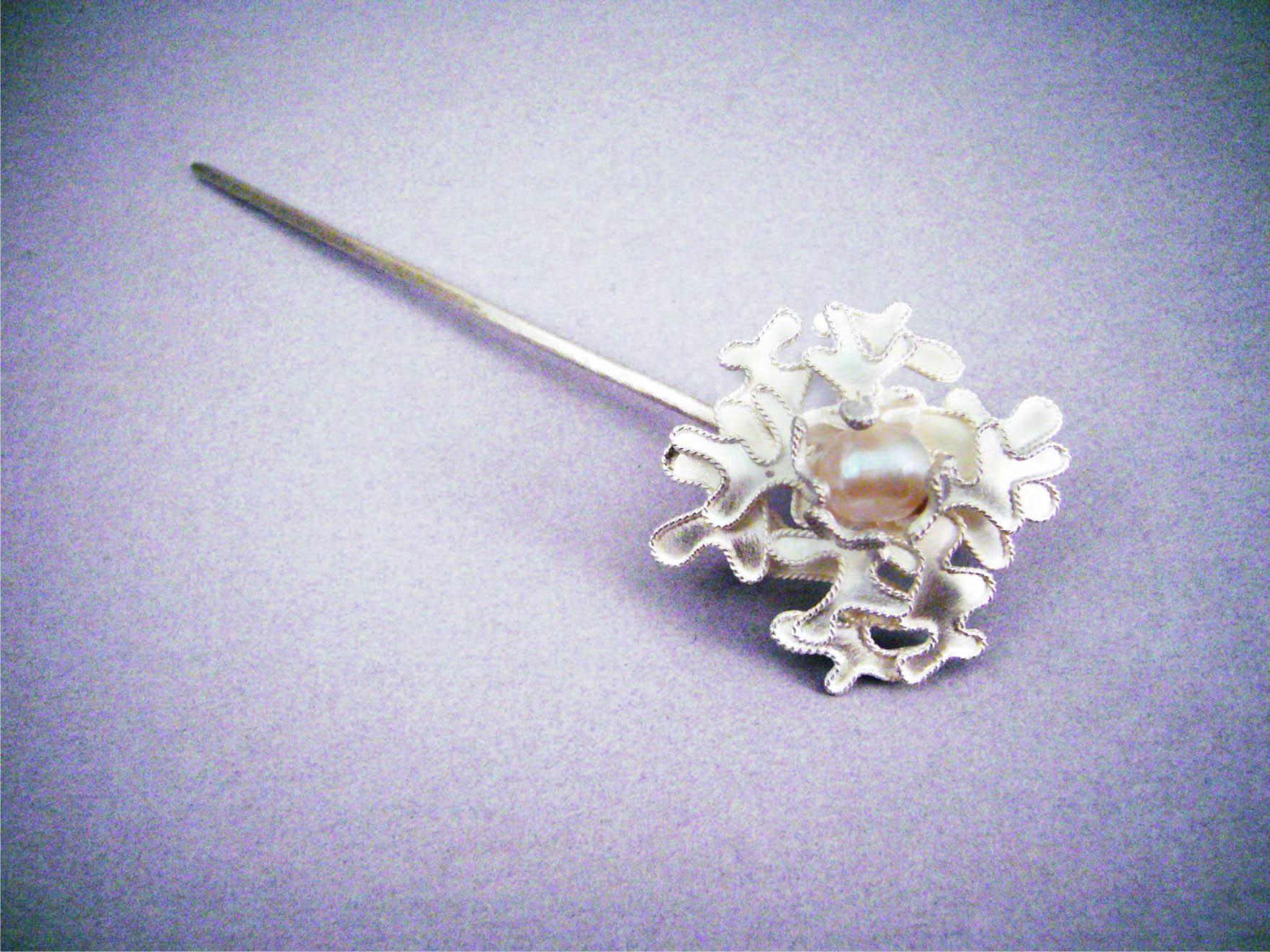 No.086 花卉簪