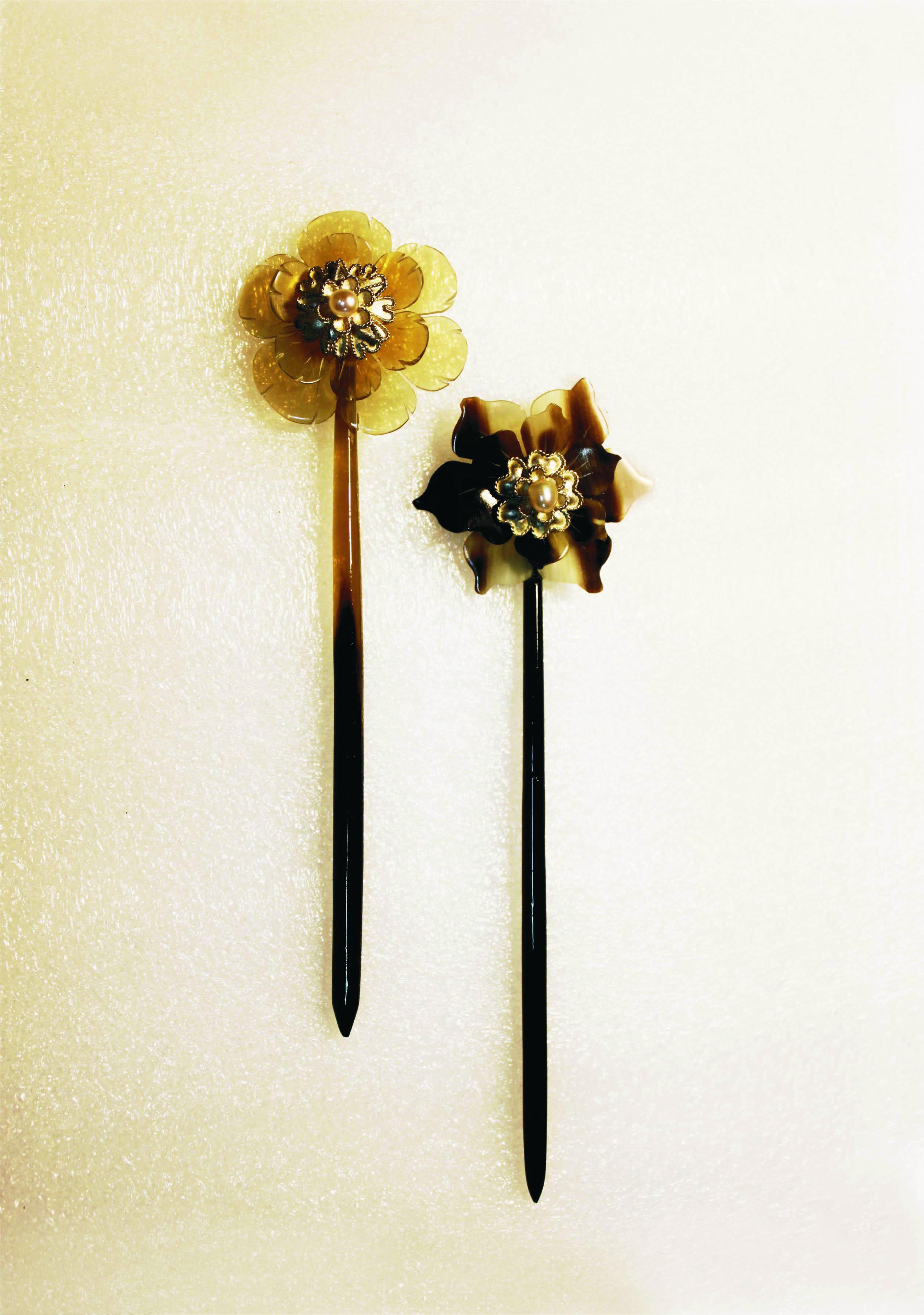 No.084 花卉簪
